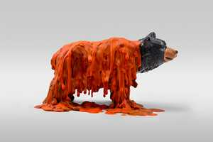 'Dollar Store Animals' by Doug Pedersen Depicts Wax-Wearing Creatures