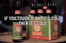 Satirical Beer Ads