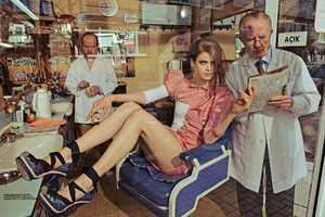 Julia Saner Infiltrates a Man's World in Vogue Turkey June 2011