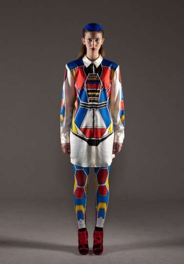 Ground Zero Autumn/Winter 2011 collection resembles a transformer