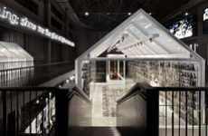 Gigantic Glass Installations - Shanghai's Museum of Glass by Tilman Thuermer Sparkles and Shines