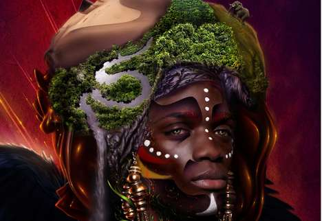 Eugene Sheeleen African God