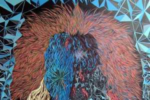 Scott Greenwalt Paints Portraits in Reverse