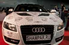 The Swarovski Audi A5 is a Diamond-Studded Girl's Best Friend