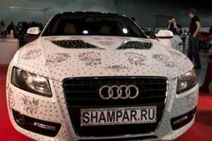 The Swarovski Audi A5 is a Diamond-Studded Girl's Best Friend