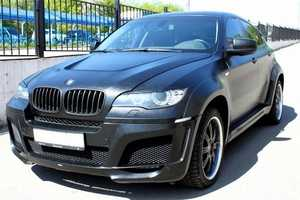 This Leather-Covered BMW X6 M is Sleek and Unusual