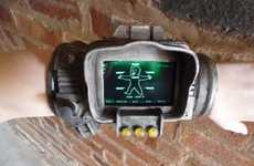 Gamer Smartphone Displays - The PIP-Boy 3000 iPhone Case Pays Homage to 'Fallout 3'