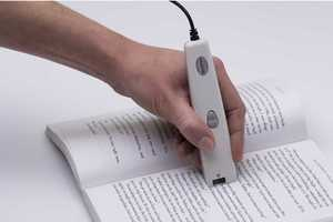 IRISPen Handheld Scanner Lets You Digitally Absorb What You Read