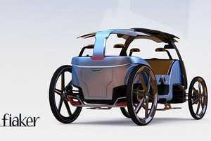 Fiaker Panta Rhei Car is the Optimal Sightseeing Conveyance