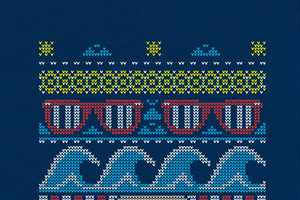 The 'Ugly Summer Sweater' on Threadless Pays Homage to Bill Cosby
