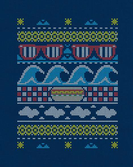 TV-Inspired Tees - The 'Ugly Summer Sweater' on Threadless Pays Homage to Bill Cosby