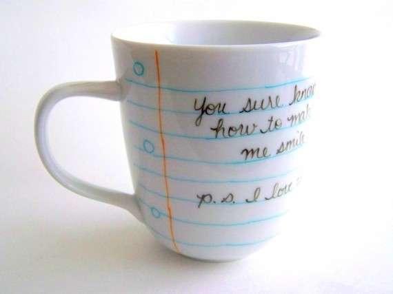 Handwritten Cup Designs