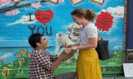 graffiti marriage proposal