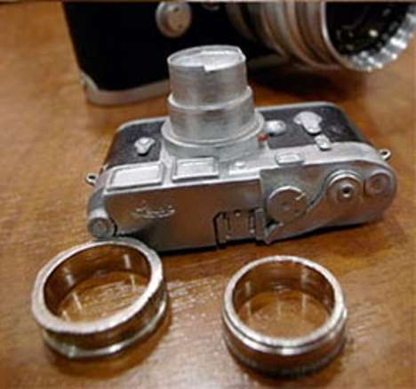 Leica wedding rings