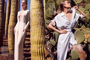 Blanco Sobre Blanco in Vogue Mexico June 2011 Does White Right