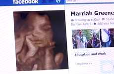 Fetal Facebook Profiles - Marriah Greene's Facebook Account is Controlled by Her Parents