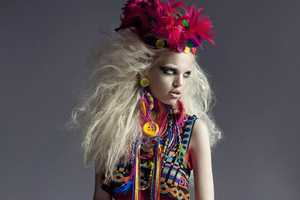 Daphne Groeneveld Embraces Chaotic Fashion for Numero 124