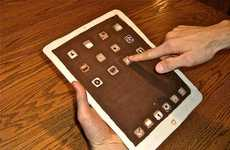 Cocoa Tablet Treats - The Chocolate iPad 2 Simply Supports One App for Eating
