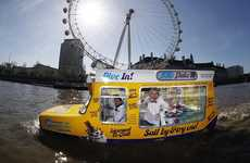 HMS Flake 99 is the World's First Floating Soft-Serve Truck