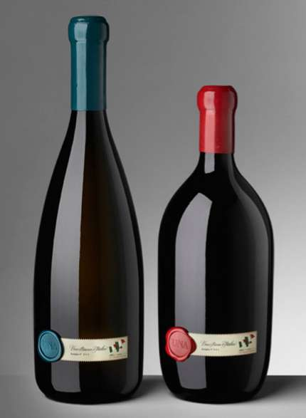 UNA Wine Packaging