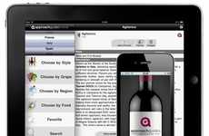 Intoxicating Sommelier Services - AG Wine App Helps You Discern Regional Differences