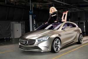 The Mercedes Benz A Class 2012 commercial Stars Supermodel Jessica Stam