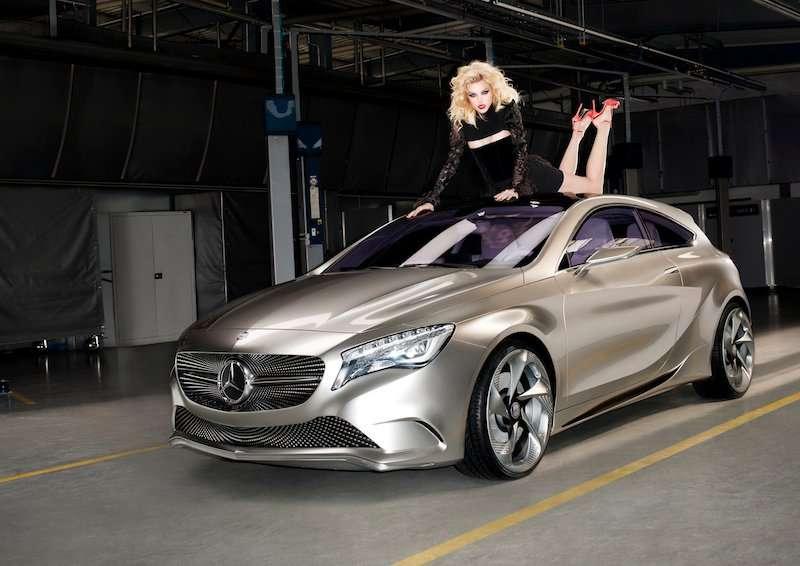 Supermodel Supercar Ads