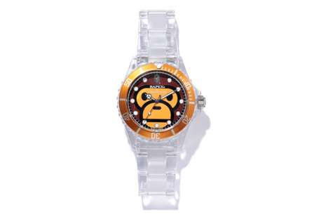 A Bathing Ape Baby Milo Clear Bapex