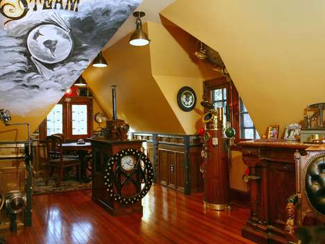 steampunk house