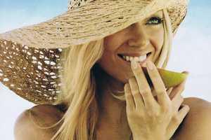 Lindsay Ellingson Sparks a Heat Wave in Allure June 2011