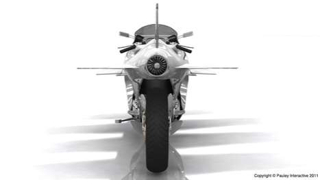 Sky-High Superbikes - The Phil Pauley 'Bullet' is a High Speed Flying Motorbike