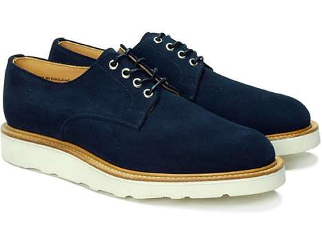 Sturdy Suede Footwear - S/Double Derby Work Shoe is Classic with a Street Style Twist