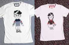 Hipsterfied Toon Tees