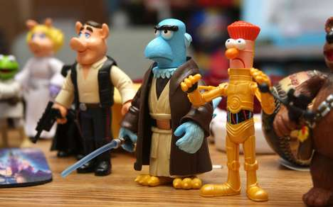 Star Wars Muppets Figurines