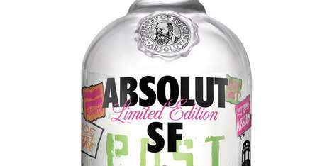City Tribute Collector Vessels - The ABSOLUT SF Bottle Pays Homage to San Francisco