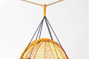 The Knotted Melati Hanging Chair Keeps You Looking and Feeling Cool