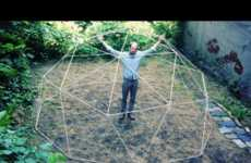 DIY Geodesic Tents