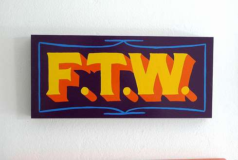 Internet Acronym Wall Art