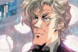 Dr. Who Anime Gives the Cult Classic the 80s Japanese Animation Treatment