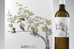 Jaspi Blanc Wine Packaging Unveils an Organic Honesty