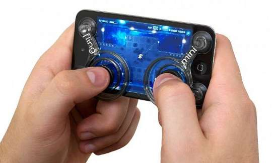 Smartphone Suctioned Controllers