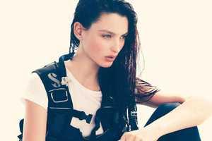 Georgina Stojiljkovic Wears Sea-Centric Styles in Elle Sweden June 2011