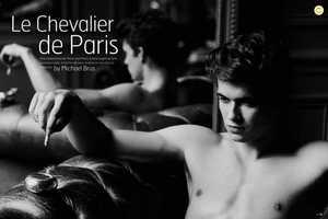 Daniel Hamaj Relaxes for Le Chevalier de Paris in Name It Magazine