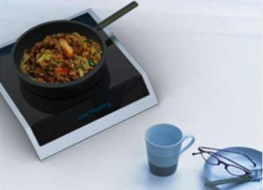 Detachable Hi-Tech Stovetops - The Free Cooker by Ahhaproject Lets You Roast in Any Room