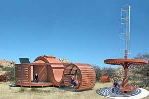 The Eco-Desert Retreat is Part Art and Part Sustainable Abode