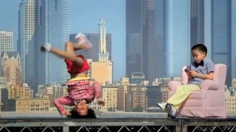 Breakdancing Baby Videos - The Tony Kelly American Apparel Ad is Hilarious and Enthralling