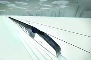The Hassell A-HSV is a Bullet Train into the Future