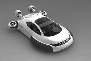 The Volkswagen Aqua Curvy Hovercraft is an All-Pupose Vehicle