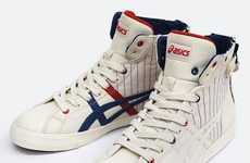 Zipper-Adorned Sneakers