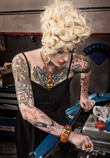 Inked Mechanic Diva Features